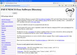 logiciels libres fsf