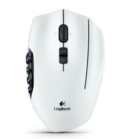 Logitech G600 blanche