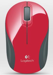 Logitech M187 rouge