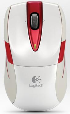 Logitech M525 blanc