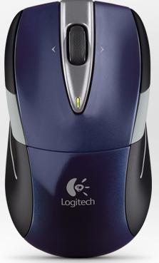 Logitech M525 bleu
