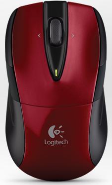 Logitech M525 rouge