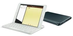 Logitech Ultrathin Keyboard iPad mini over