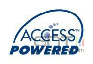 Logo acces powered