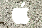 logo apple dollars