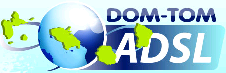 Logo DOM TOM ADSL