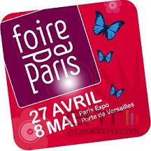 Logo foire paris 2007