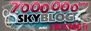 Logo skyblog 7 millions