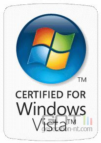 Logo windows vista certified for