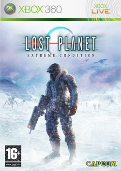 Lost planet extreme condition packshot