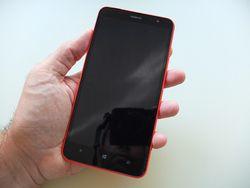 Lumia 1320 face