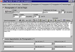 Ma Page Web screen