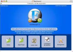 Mac Fonts 2 screen 2