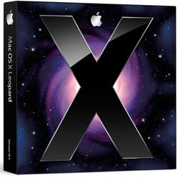 Mac OS X Leopard boîte box
