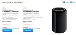 Mac Pro livraisons