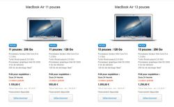 Macbook Air haswell
