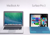 Microsoft ose Surface Pro 3 vs MacBook Air en France