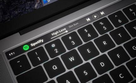Macbook Magic Toolbar