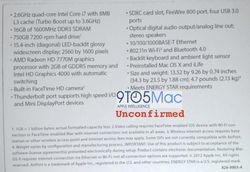 MacBook Pro 15 pouces 2012