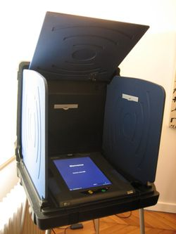 machine à voter