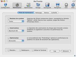 MacTuneUp screen 1