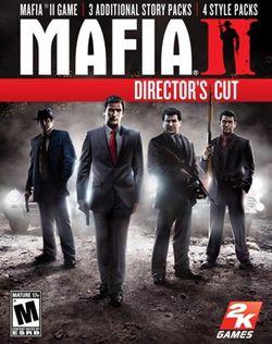 Mafia 2 Director\'s Cut - pochette