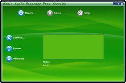 Magic Audio Recorder screen1
