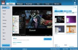 Magic Desktop screen 1