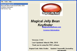 Magical Jelly Bean Keyfinder Portable : retrouver le numéro de produit de Windows ou Office