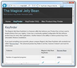 Magical Jelly Bean Keyfinder screen2