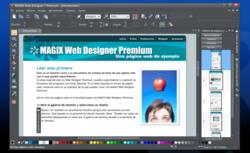 MAGIX Web Designer 9 Premium screen1