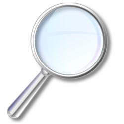 Magnifier logo