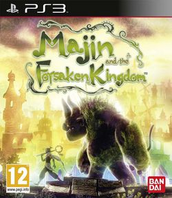 Majin and the Forsaken Kingdom - jaquette PS3
