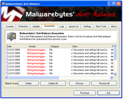 Malwarebytes Anti-Malware screen1