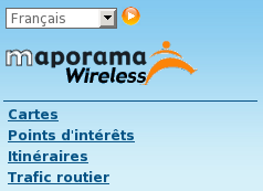 Maporama wireless
