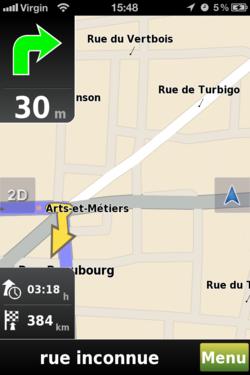 Mappy GPS Free 5