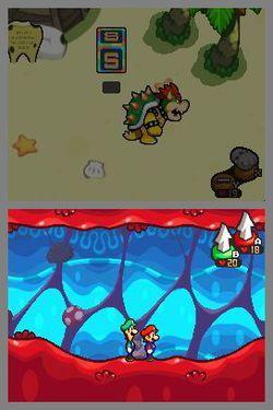 Mario & Luigi Voyage au centre de Bowser (2)