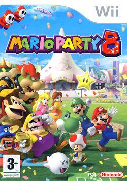 Mario party 8 packshot