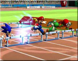 Mario sonic jeux olympiques
