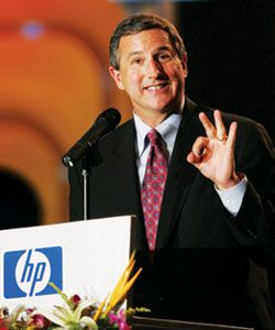 Mark Hurd PDG Hewlett-Packard