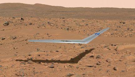 Mars avion