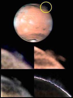 Mars nuage