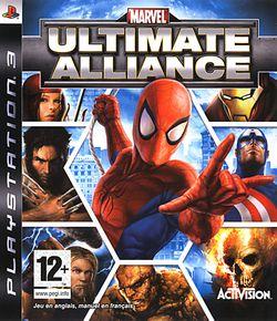 Marvel ultimate alliance ps3 packshot