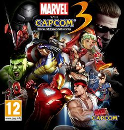 Marvel Vs Capcom 3 - pochette