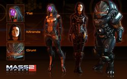 Mass Effect 2 - Appearance Pack 2 DLC - Image 1