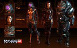 Mass Effect 2 - Appearance Pack 2 DLC - Image 1