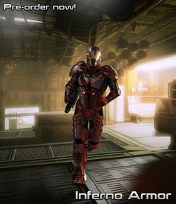 Mass Effect 2 Inferno Armor