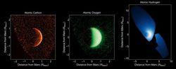 Maven Mars atmosphère