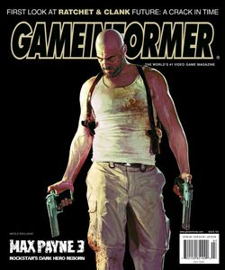 Max Payne 3 - couverture presse