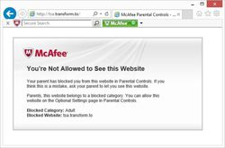McAfee Internet Security  screen1